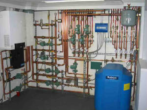 Radiant heat conversion for Radiant heat wall units